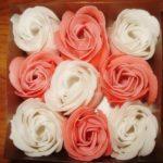 Цветы из мыла в подарок