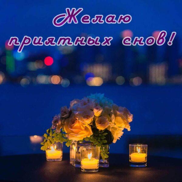 Желаю приятных сновидений!