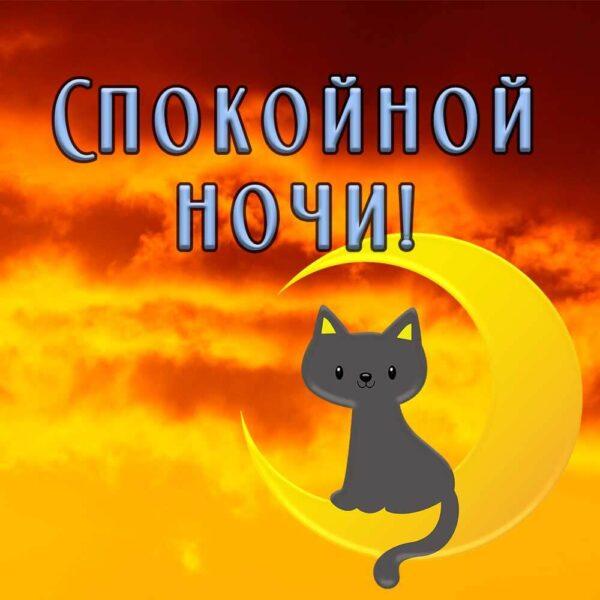 Спокойной тебе ночи!